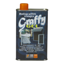 GRAFFY GEL ELIMINA GRAFFITI ECOLOGICO